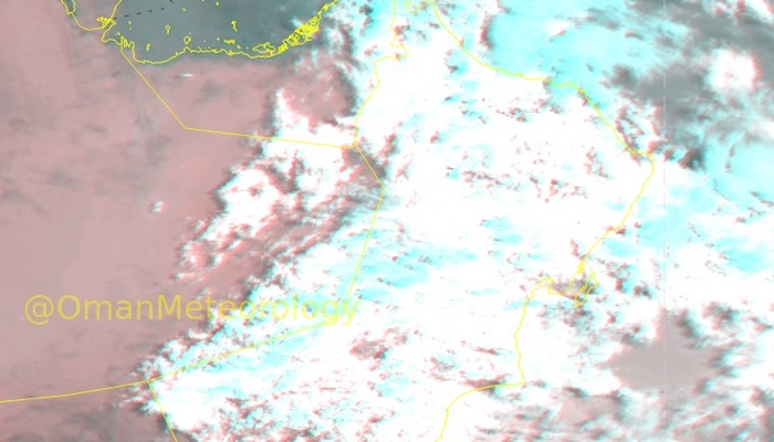 Chances of rain over some parts of Oman