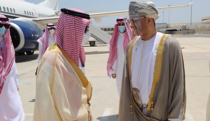 Saudi Foreign Minister arrives in Oman