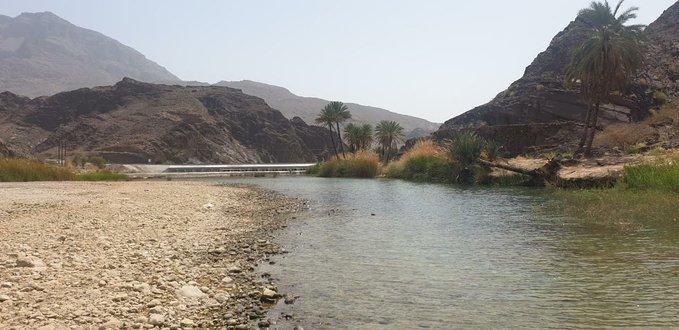 واديان بولاية الكامل والوافي يتميّزان بجريان الماء الدائم