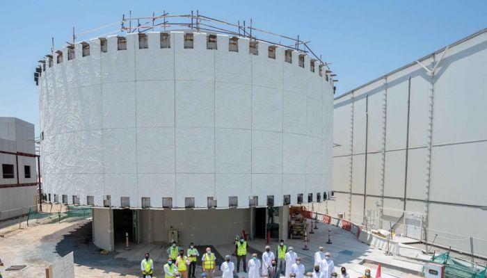 المفوضية العامة لجناح السلطنة في إكسبو 2020 تطلع على آخر المستجدات بسير العمل في الجناح العُماني