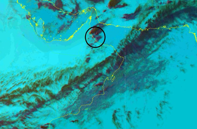 Rain likely in parts of Oman