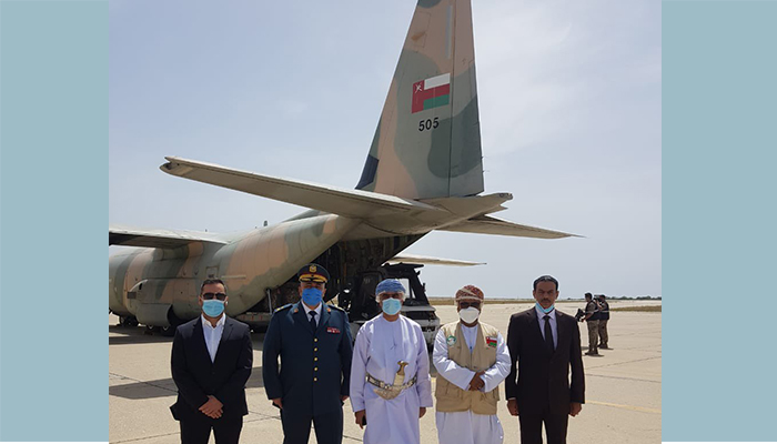 On HM directives, Oman sends relief  to Lebanon
