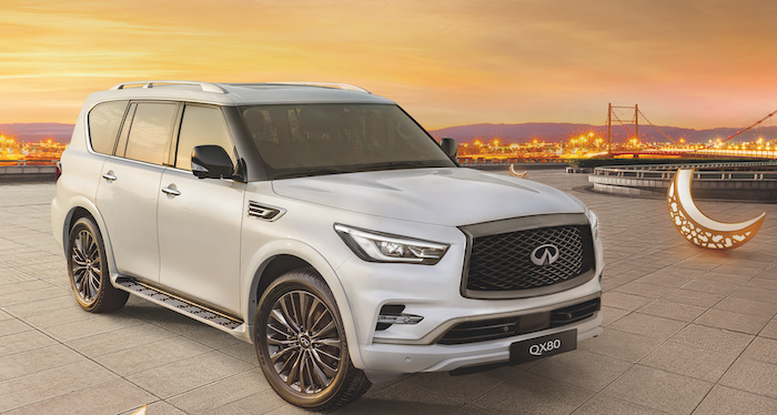 Make your dream of owning a INFINITI QX80 come true this season