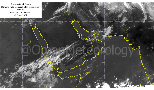 Rainfall, thunderstorms to continue over parts of Oman