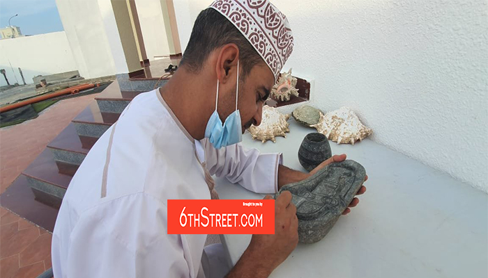 Omani's skillful craft of ancient sculpture making