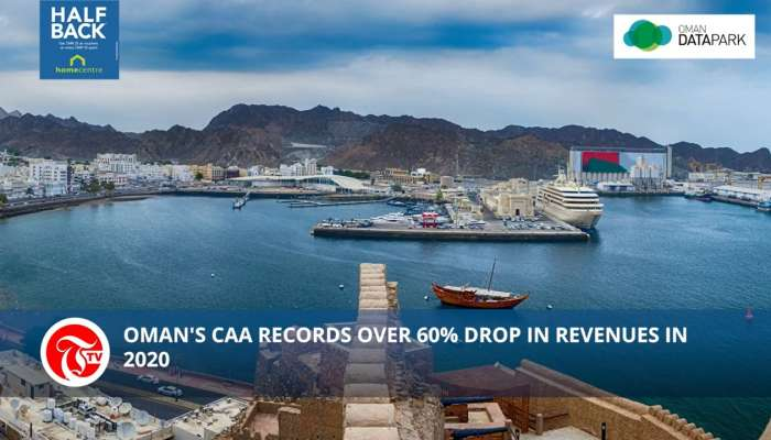 Oman's CAA records over 60% drop in revenues in 2020