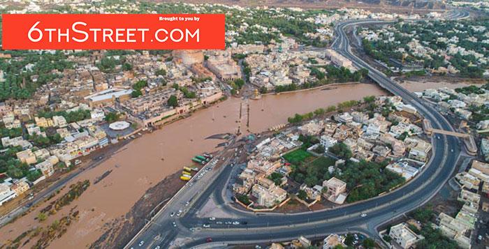 Heavy rains lash parts pf Oman, flooding damages reported