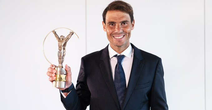 Laureus Awards: Nadal named Sportsman of the Year, Naomi takes home Sportswoman title