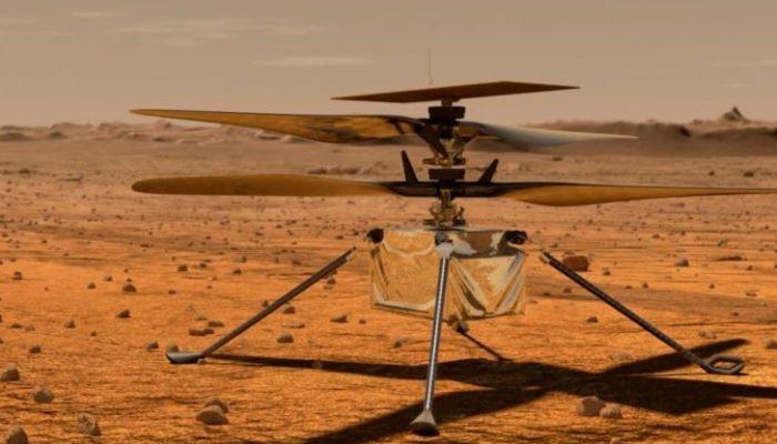 ناسا تكشف عن أول تسجيل صوتي للمروحية 'إنجينويتي' على سطح المريخ