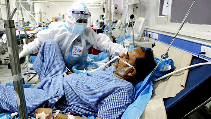 India reports 4,01,078 new COVID-19 cases in last 24 hours