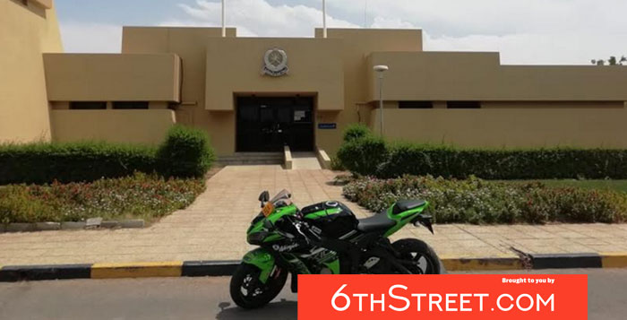 Motorcyclist arrested for rash riding in Oman