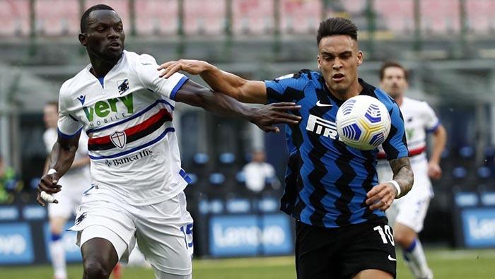 Inter crushes Sampdoria in Serie A