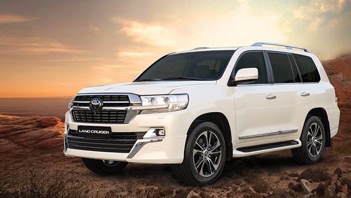 Toyota Land Cruiser with Biggest Excitement benefits