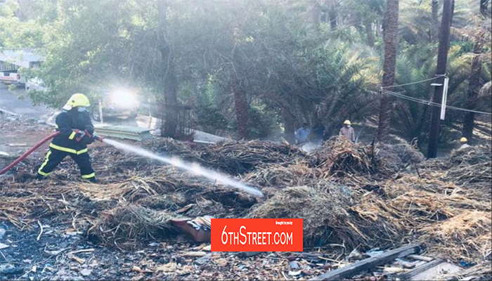 Farm fire extinguished in Oman