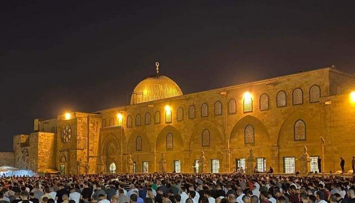 تجدد المواجهات قرب المسجد الأقصى