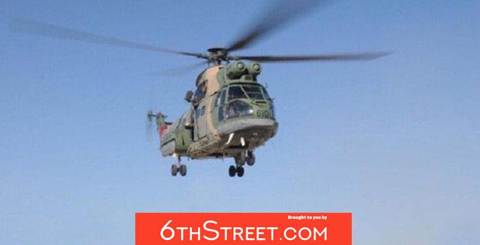 Royal Air Force conducts medical evacuation