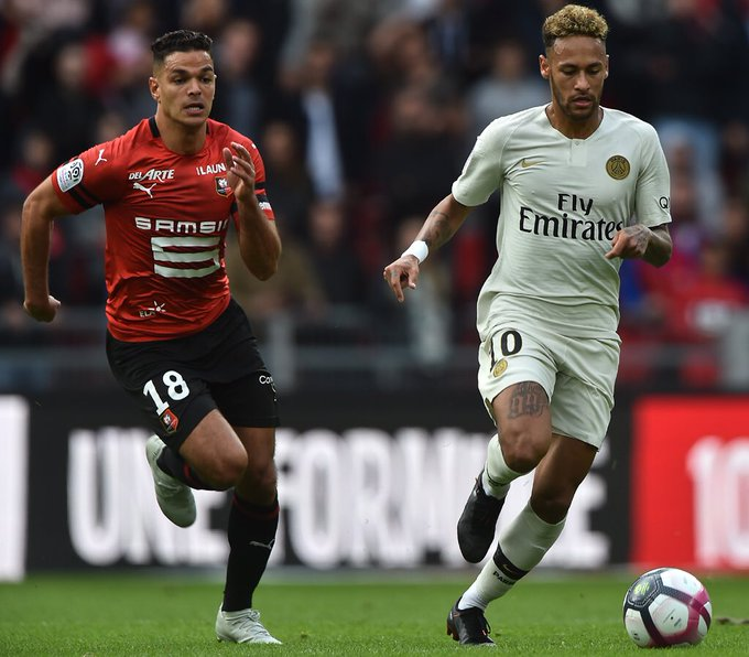 Neymar on target but PSG suffer title defence blow