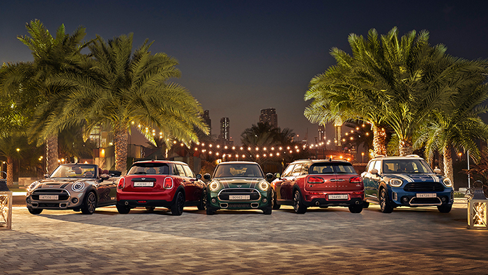 Exclusive offers on MINI models this Ramadan