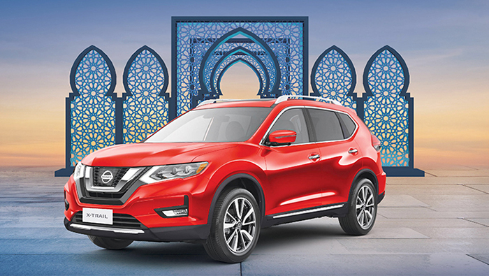 Celebrate Ramadan with Nissan X-Trail, now available at 0% interest