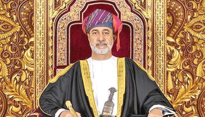 جلالة السلطان يتلقى تهنئة من رئيس مجلس الدولة بمناسبة عيد الفطر