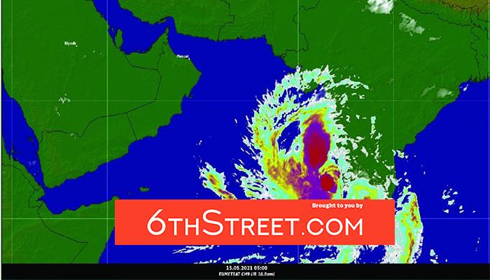 Tropical depression develops into tropical storm