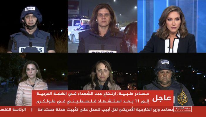 إسرائيل تقصف مكتب قناة الجزيرة في غزة