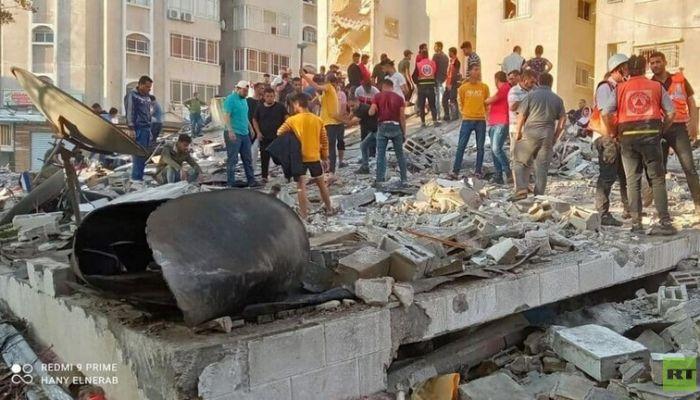ارتفاع حصيلة ضحايا الضربات الإسرائيلية على غزة إلى 153 شهيد
