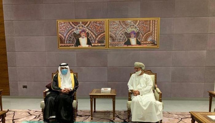 السفير السعودي الجديد يصل السلطنة