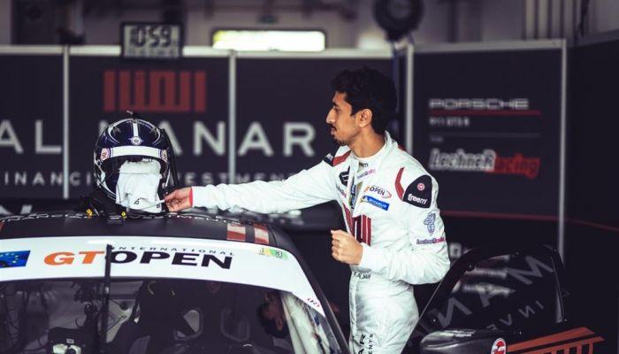 الفيصل الزبير يحل رابعًا في أولى سباقات البطولة الدولية المفتوحة GT