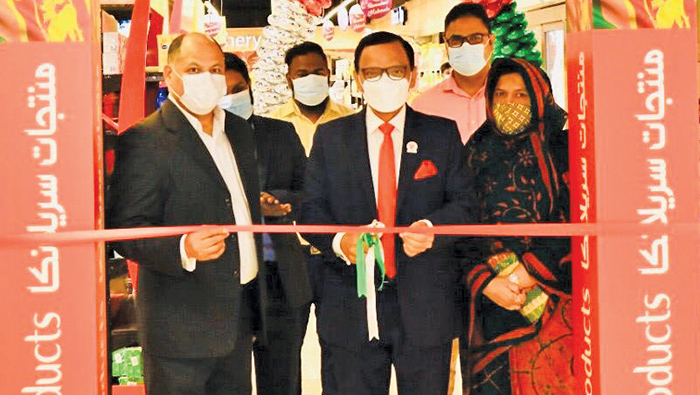 Ambassador opens exclusive stall for 'Sri Lankan Products'
