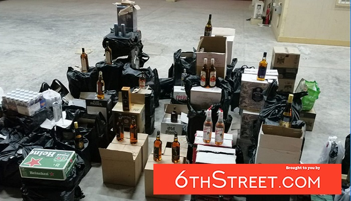 More than 1000 bottles of alcoholic beverages seized in Oman