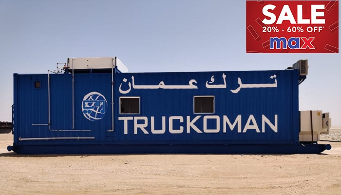 Truck Oman adds rest cabins to its fleet
