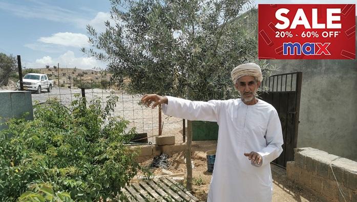 This Omani farmer converts scorching desert into lush farmland