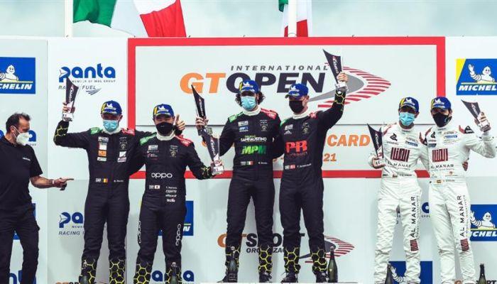 الفيصل الزبير ثالثًا في السباق الثاني بالبطولة الدولية المفتوحة للتحمل GT