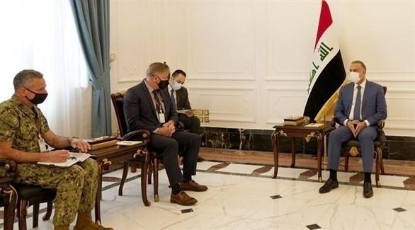 الحكومة العراقية تبحث تعزيز العلاقات الثنائية مع حلف الناتو