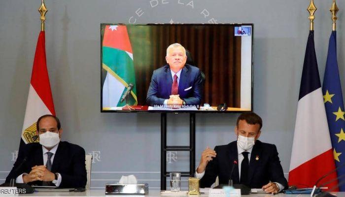 مصر والأردن وفرنسا: لا بد من إيجاد حل عادل للقضية الفلسطينية