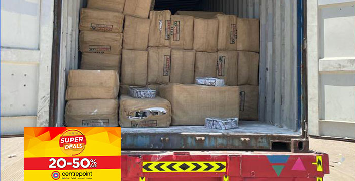 Over 300 boxes of tobacco products seized in Oman