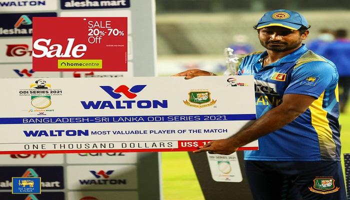 Sri Lanka register consolation win in 3rd ODI against Bangladesh