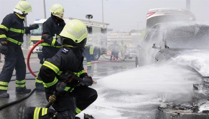 انخفاض حوادث الحريق على وسائل النقل البري خلال العام الماضي
