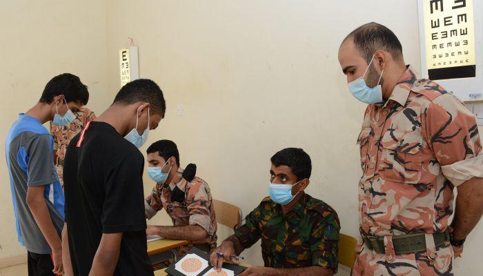الجيش السلطاني يبدأ في إجراءات التجنيد للالتحاق بواحداته المختلفة