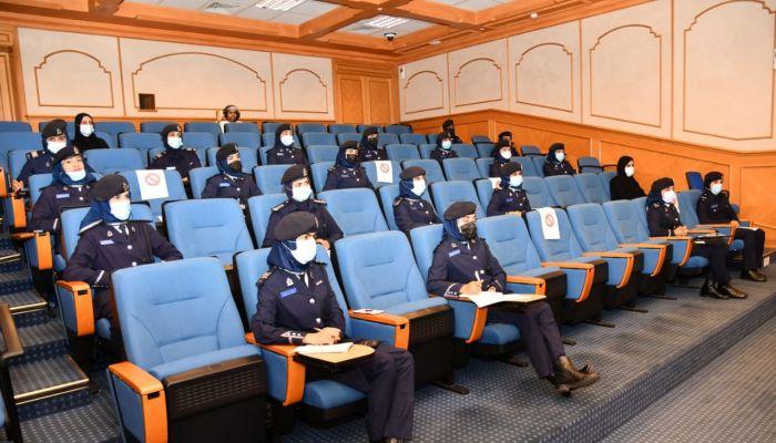 حلقة عمل حول قضايا الاتجار بالبشر للضابطات المرشحات