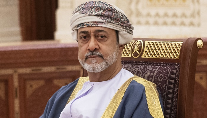 His Majesty the Sultan greets Italian President