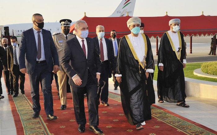 Palestinian Prime Minister arrives in Oman