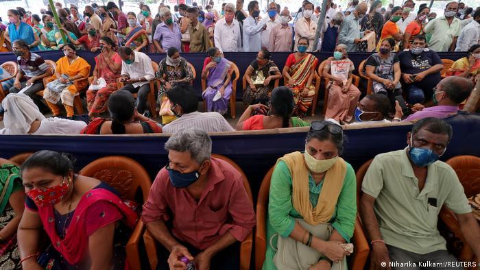 الهند تسجل 132788 إصابة  بكورونا