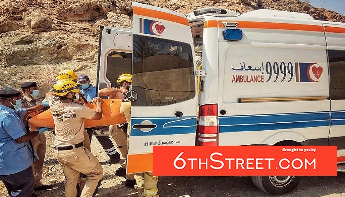 Emergency medical care provided by CDAA in Oman