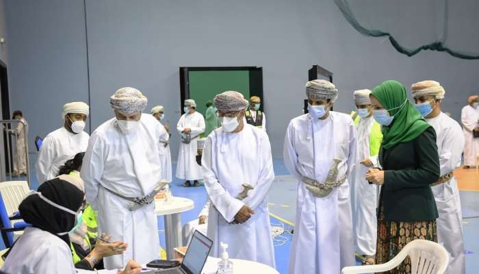 COVID-19: Supreme Committee monitors progress of immunisation process in Oman