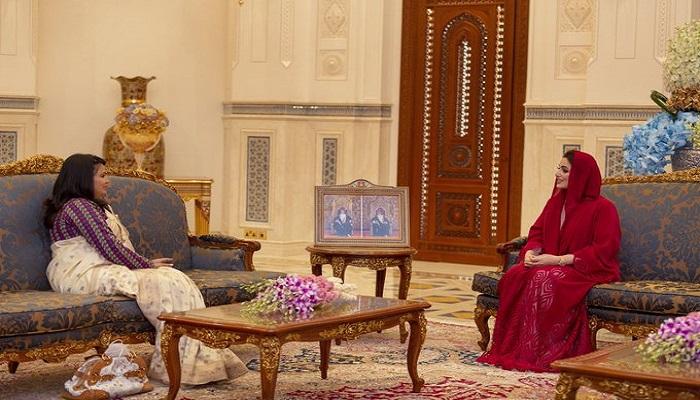 Honourable Lady receives Ambassador of Nepal