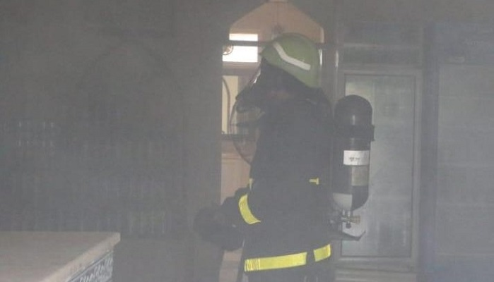 Fire at a restaurant in Oman extinguished