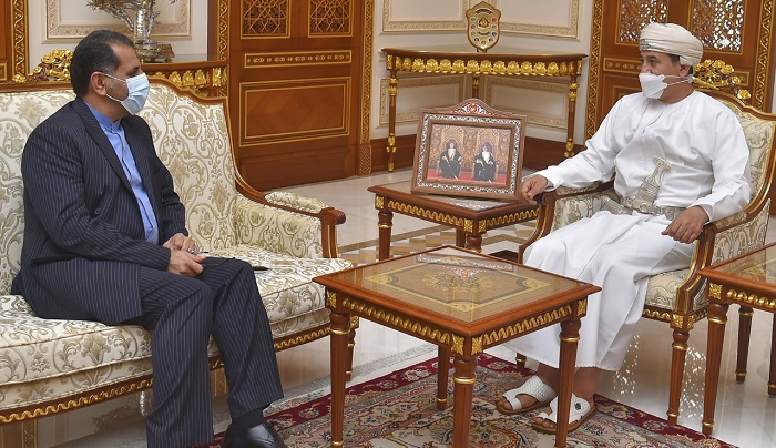 Minister receives Ambassador of Iran