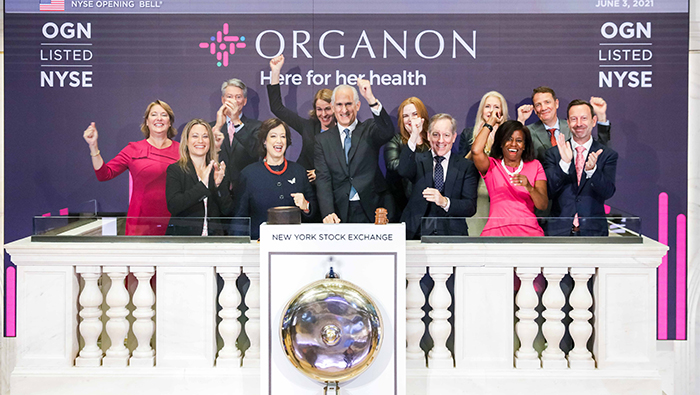 Organon launches as new women's health company